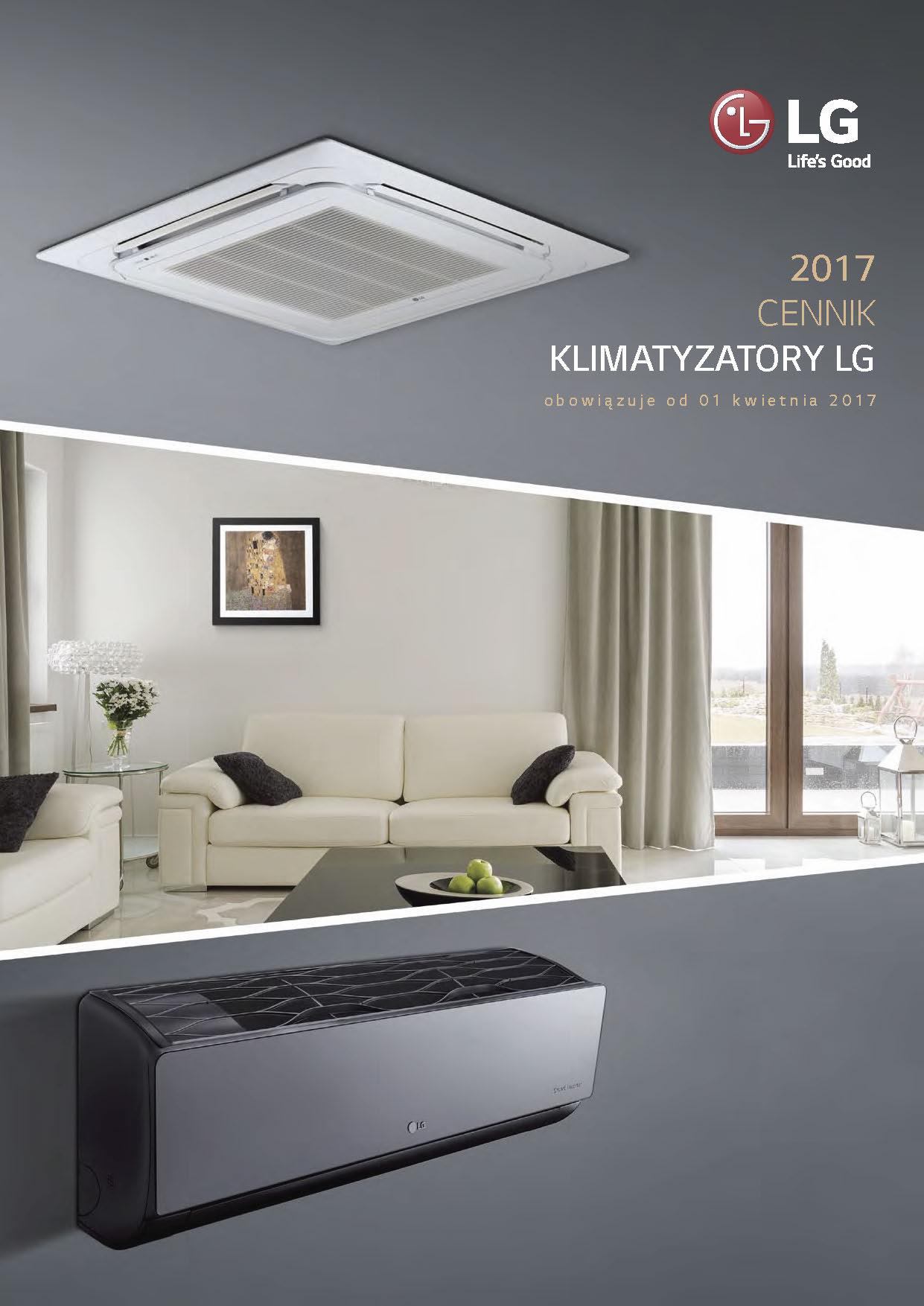 NOWY cennik LG 2017