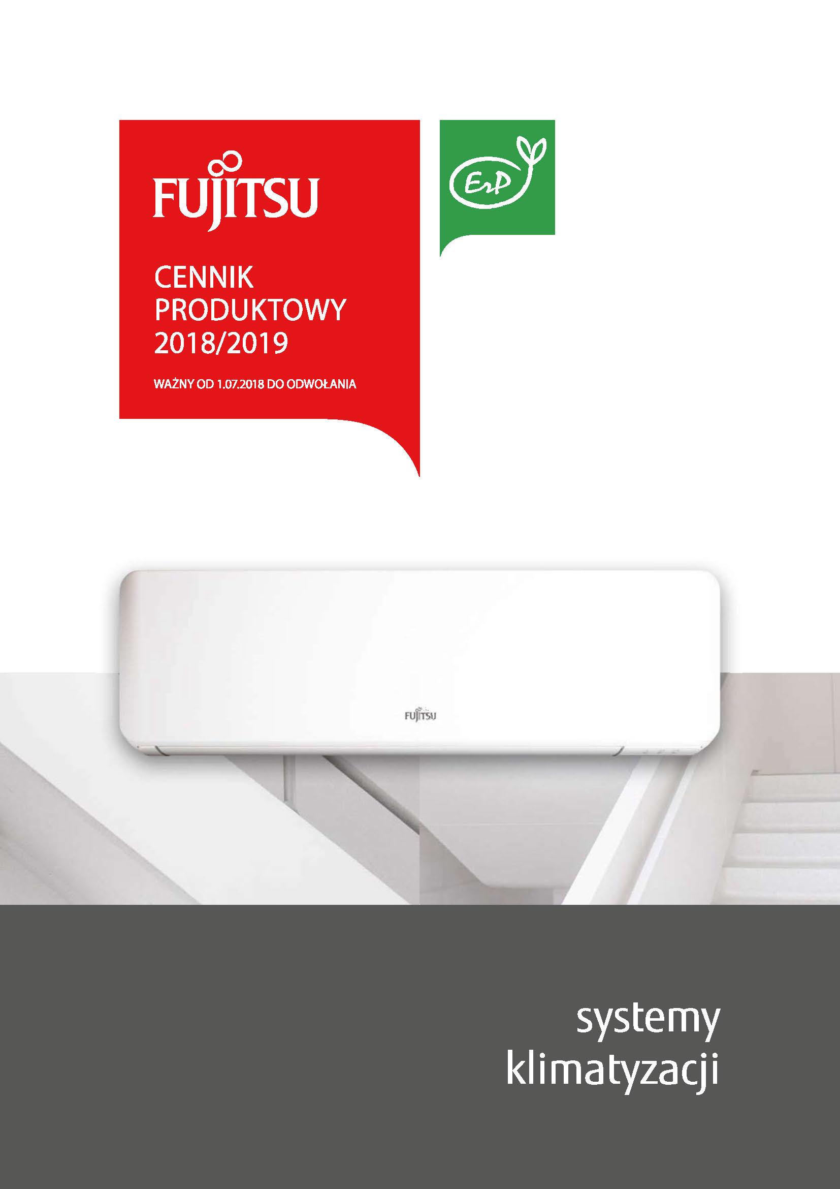 Najnowszy cennik FUJITSU 2018-2019